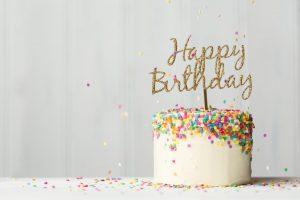 Cake, Happy Birthday